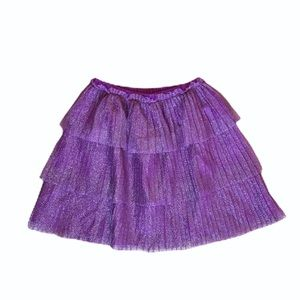 Hanna Andersson size 140 purple sparkly skirt